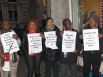 Nigerian LGBTI In Diaspora Against Anti-Same Laws. Protest Londo 003