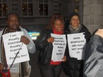 Nigerian LGBTI In Diaspora Against Anti-Same Laws. Protest Londo 004