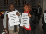 Nigerian LGBTI In Diaspora Against Anti-Same Laws. Protest Londo 005
