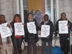 Nigerian LGBTI In Diaspora Against Anti-Same Laws. Protest Londo 006