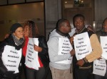 Nigerian LGBTI In Diaspora Against Anti-Same Laws. Protest Londo 025