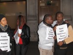 Nigerian LGBTI In Diaspora Against Anti-Same Laws. Protest Londo 027