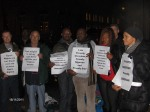 Nigerian LGBTI In Diaspora Against Anti-Same Laws. Protest Londo 033